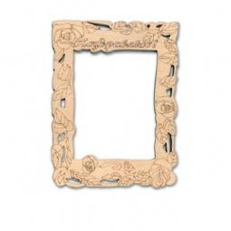 фото Фоторамка деревянная для изготовления магнита RTO «Поздравляю»