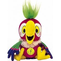 фото Игрушка интерактивная мягкая Зверюшки «Попугай Кеша» 071339
