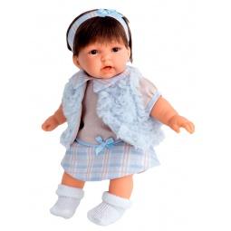 фото Кукла интерактивная Antonio Juan «Анна в голубом жилете»