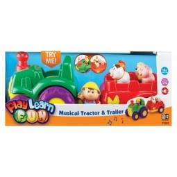 Купить Музыкальный трактор Keenway 31222