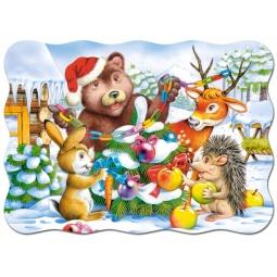 Купить Пазл 30 элементов MIDI Castorland «Рождественская Елка»
