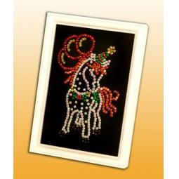 фото Мозаика из пайеток Волшебная мастерская «Лошадка»