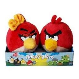 фото Мягкая игрушка Angry Birds на подставке «Две красные птицы»