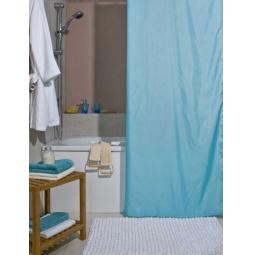 фото Штора для ванной Spirella Atlas. Цвет: голубой