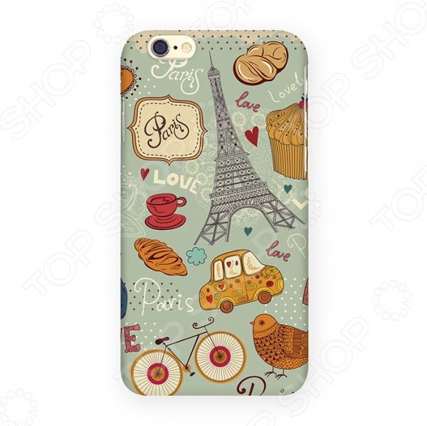 Чехол для iPhone 6 Mitya Veselkov «Сладкий Париж» чехол для iphone 6 mitya veselkov ретро париж