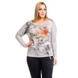 фото Кофта Mondigo XL 8511. Цвет: серый. Размер одежды: 52