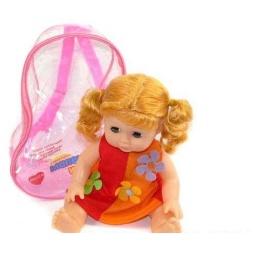 фото Кукла интерактивная Shantou Gepai в рюкзаке 628973