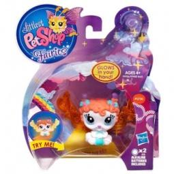 фото Набор игровой для девочек Littlest Pet Shop Зверюшки-феи со светящимся эффектом
