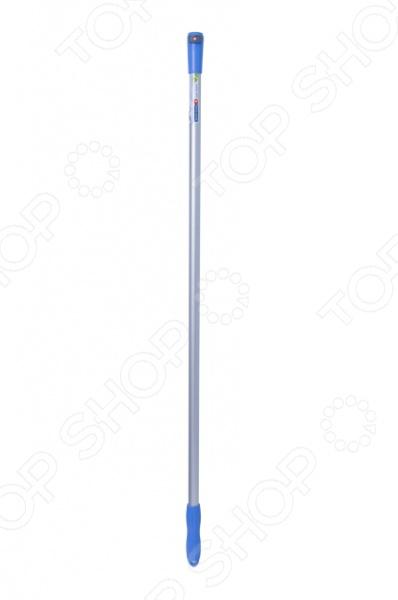 Ручка пластиковая для сменных рабочих насадок Brigadier станет прекрасным дополнением к набору вашего садового инвентаря. Изделие выполнено из облегченного алюминиевого сплава и ударопрочного пластика. Рукоятка предназначена для совместного использования с различными, подходящими по размеру, насадками марки Brigadier.