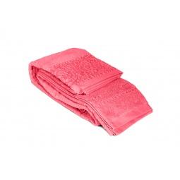 фото Полотенце Tete-a-Tete махровое Т-МП-6459. Размер: 90х150 см. Цвет: розовый