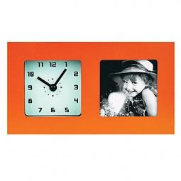 фото Часы с фоторамкой СТАРТ PHOTO. Цвет: оранжевый