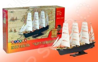 Сборная модель морского судна Огонек «Крузенштерн»