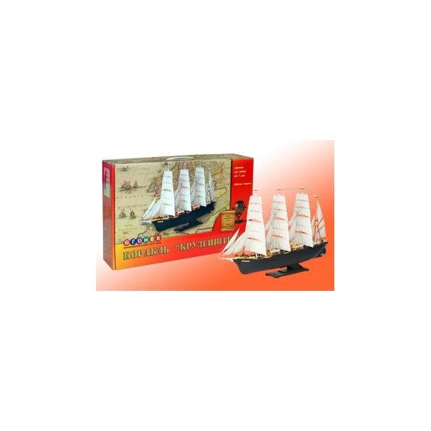 фото Сборная модель морского судна Огонек «Крузенштерн» С-43