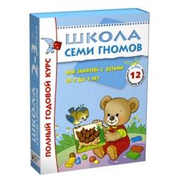 Купить Школа Семи Гномов. Полный годовой курс для занятий с детьми от 2 до 3 лет. Комплект из 12 книг