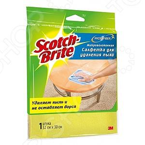 Салфетка для удаления пыли Scotch-Brite MW-D салфетка для уборки пыли scotch brite 3m