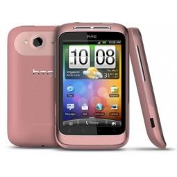 фото Мобильный телефон HTC Wildfire S. Цвет: розовый