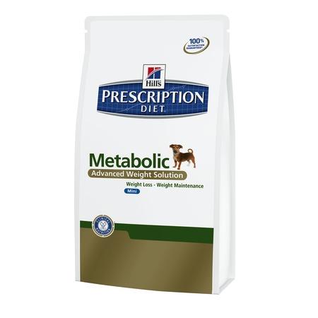Купить Корм сухой диетический для собак Hill's Prescription Diet Canine Metabolic Mini