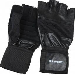 Купить Перчатки для тяжелой атлетики и фитнесса Larsen NT502