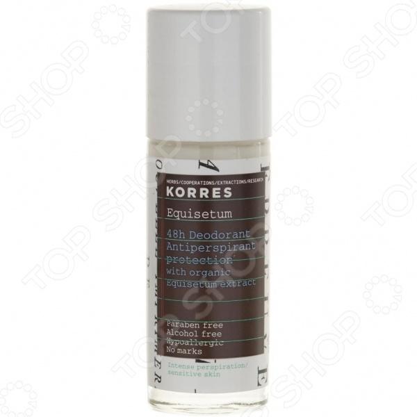 Дезодорант Korres для защиты кожи