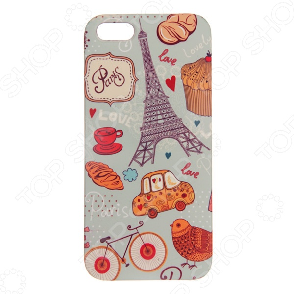 Чехол для iPhone 5 Mitya Veselkov «Сладкий Париж» чехол для iphone 6 mitya veselkov ретро париж