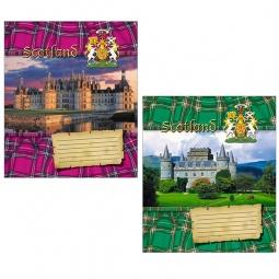 Купить Тетрадь в линейку Пересвет «Шотландия». В ассортименте