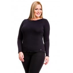 фото Кофта Mondigo XL 1470. Цвет: черный. Размер одежды: 48