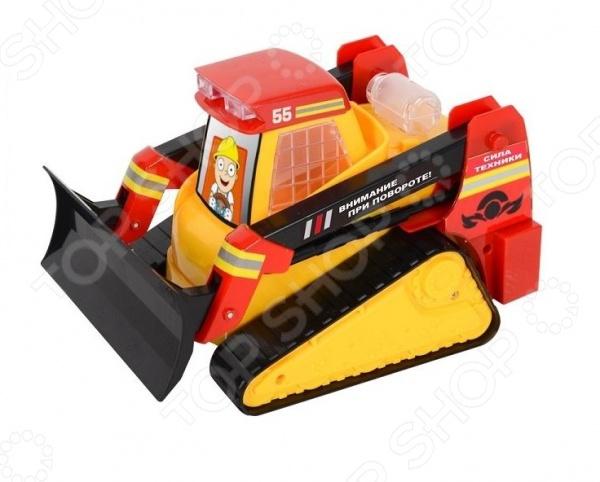 Трактор со светозвуковыми эффектами Zhorya гусеничный «Сила техники» Х76244
