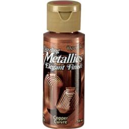фото Краска акриловая DecoArt Dazzling Metallics. Цвет: медный