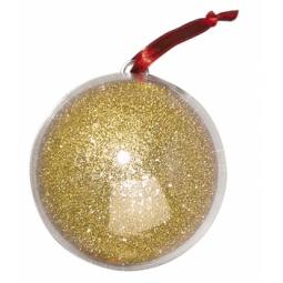 Купить Фигурка из пластика Rayher Шар золотистый