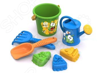 Набор для игры в песочнице Нордпласт «Ам Ням» №5 игрушки в песочницу нордпласт набор для песка ам ням 1
