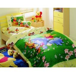 фото Детский комплект постельного белья TAC Winnie the pooh rainbow
