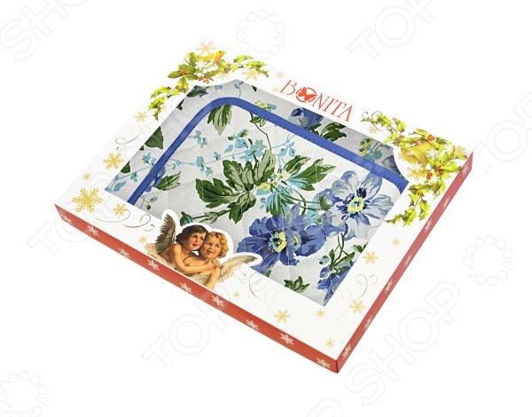 Комплект из 2-х полотенец и прихватки подарочный BONITA «Английская коллекция» 01010215394 комплект из 2 х фартуков bonita дочки матери