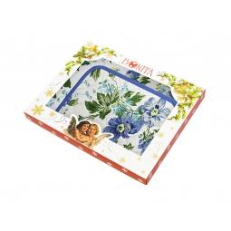 фото Комплект из 2-х полотенец и прихватки подарочный BONITA «Английская коллекция» 01010215394