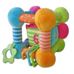 фото Мягкая игрушка развивающая Жирафики «Куб цветной»