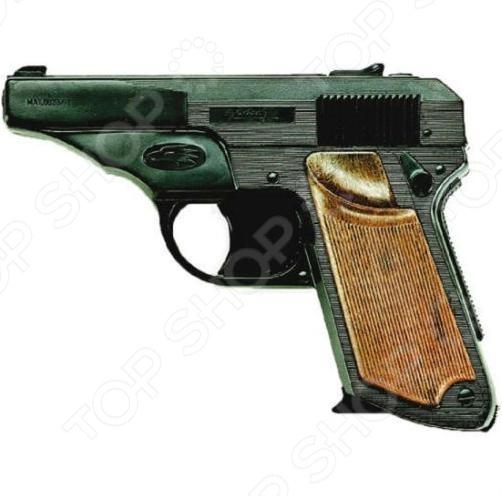 Пистолет Edison 0237 Falcon пистолет edison giocattoli dakota metall western