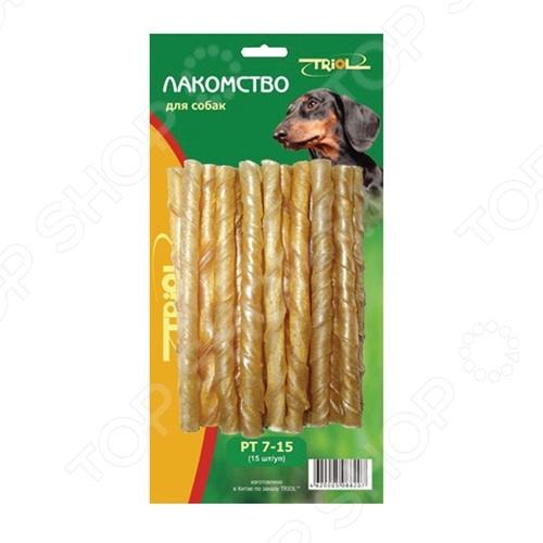 Лакомство для собак TRIOL RT7-15 «Набор. Палочки крученые»