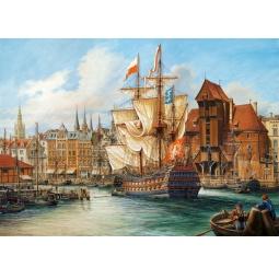 Купить Пазл 1000 элементов Castorland «Старый Гданьск»