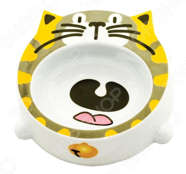 Миска для кошек DEZZIE «Восторг» гамма миска для кошек и собак n1