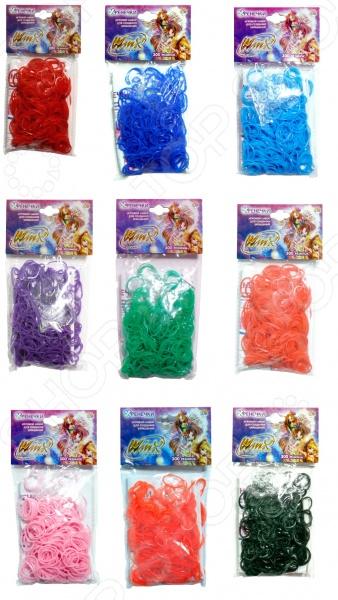 Набор резиночек для плетения 1 Toy Winx Т58322 набор для плетения lori брелоки совушка из бусин от 7 лет бус 034