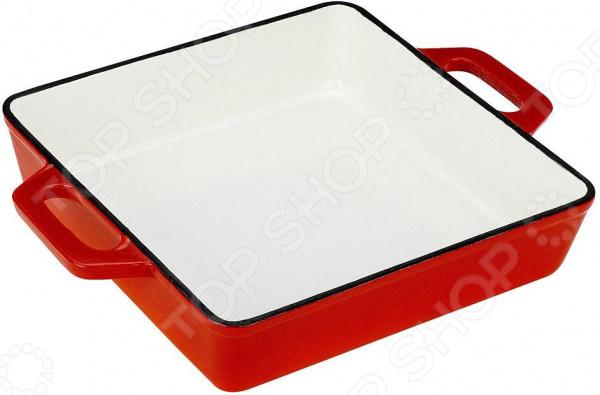 Ростер чугунный Vitesse FerroЖаровни и грили<br>Ростер чугунный Vitesse Ferro, изготовленный из чугуна с антикоррозионным покрытием, станет незаменимым помощником на вашей кухне. Высокая теплоемкость чугуна позволяет ему сильно нагреваться и медленно остывать, а это в свою очередь обеспечивает равномерное приготовление продуктов. Еда, приготовленная в чугунной посуде, сохраняет свои вкусовые качества, и благодаря экологической чистоте материала, не может нанести вред здоровью человека. Также чугунная жаровня обладает высокой прочностью и износоустойчивостью. Ростер чугунный Vitesse Ferro имеет эмалированное внутреннее покрытие белого цвета. Он оснащен двумя короткими удобными ручками. В комплект также входят две прихватки-рукавицы.<br>