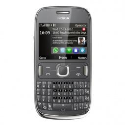 фото Мобильный телефон Nokia 302 Asha. Цвет: темно-серый