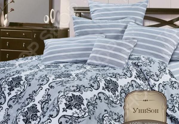 Комплект постельного белья Унисон Ажур комплекты постельного белья унисон постельное белье сиреневая нега 2 спал