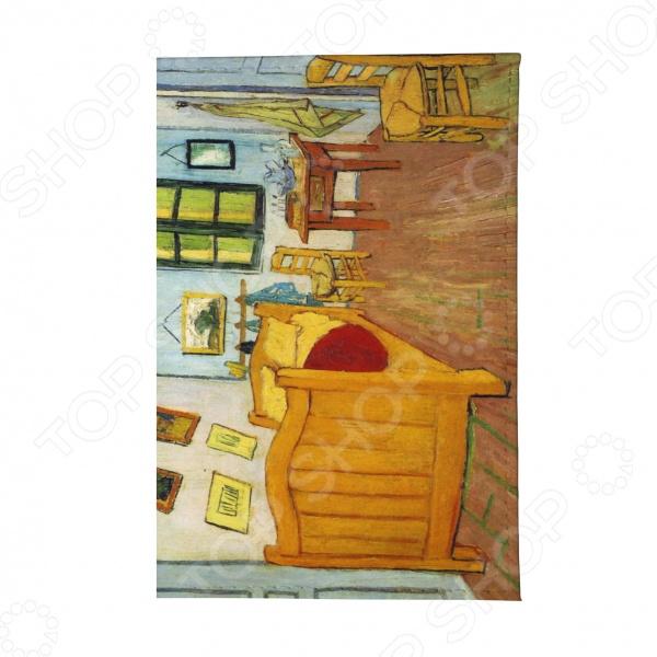 Визитница Mitya Veselkov «Ван Гог - Спальня в Арле» визитница mitya veselkov ван гог терраса кафе ночью