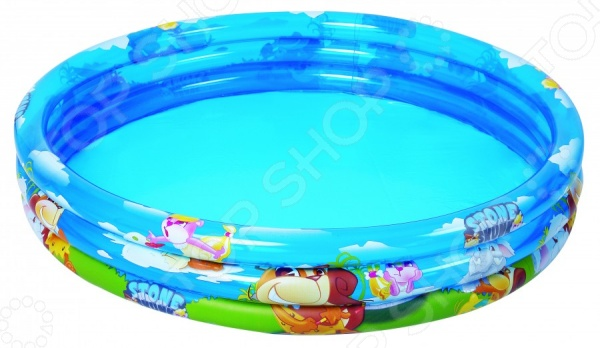 Бассейн надувной Jilong Stone Skunk 3-ring Pool JL017226NPFНадувные бассейны<br>Бассейн надувной Jilong Stone Skunk 3-ring Pool JL017226NPF яркий детский бассейн, который принесет море прямо к вам на задний двор, а также улыбку на лице детишек. Бассейн может быть установлен практически на любой площадке. Отличное решение для родителей, которые хотят искупать или просто приучить своих детей не бояться воды. Разумная цена, хорошее качество и море позитива.<br>