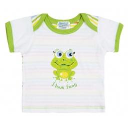 Купить Футболка с коротким рукавом детская Курносики «I love frog»