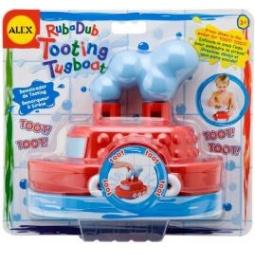 Купить Игрушка для ванны Alex Гудящий пароходик