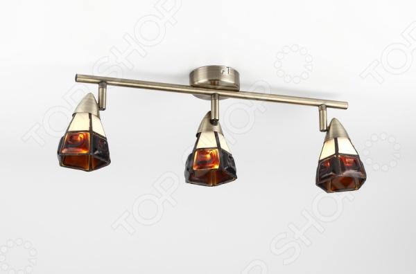 Светильник настенно-потолочный Rivoli Arlington-W C-3 это светильник, способный служить как дополнительным, так и основным источником света в небольшой комнате . Потолочный светильник подходит для комнаты с низким потолком, поскольку занимает совсем немного места. Дизайн светильника это важный акцент интерьера. Вместе с бра или подсветкой он создает интересный световой ансамбль, преображающий комнату. Два варианта установки: настенное или потолочное.