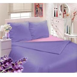 фото Комплект постельного белья Сова и Жаворонок «Прованская лаванда». 2-спальный