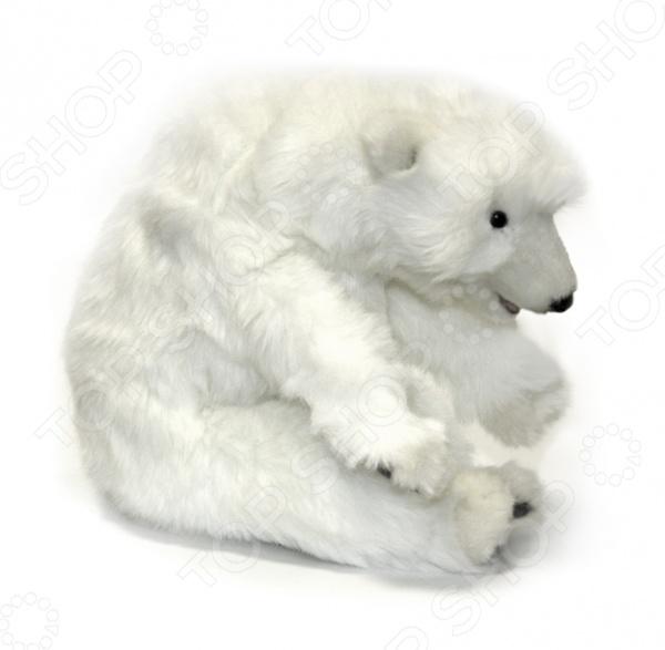 Мягкая игрушка для ребенка Hansa «Белый медвежонок спящий»