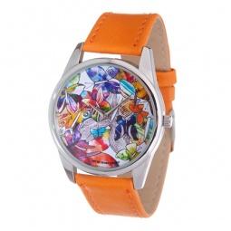 фото Часы наручные Mitya Veselkov «Бабочки акварелью»